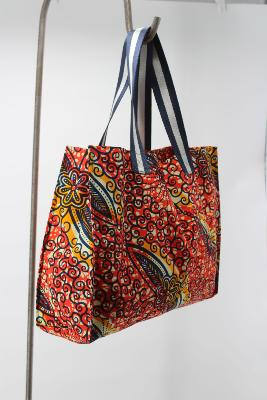 Tote Bag en Wax #4